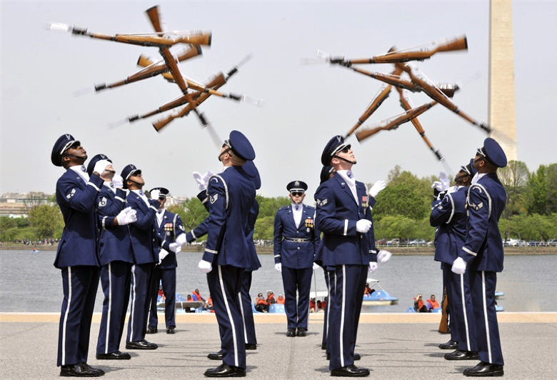 USAF Honor Guard / Drill Team