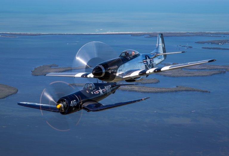 Class of '45 P-51/F-4U
