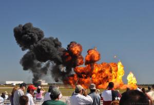 Tora Bomb Squad pyrotechnics
