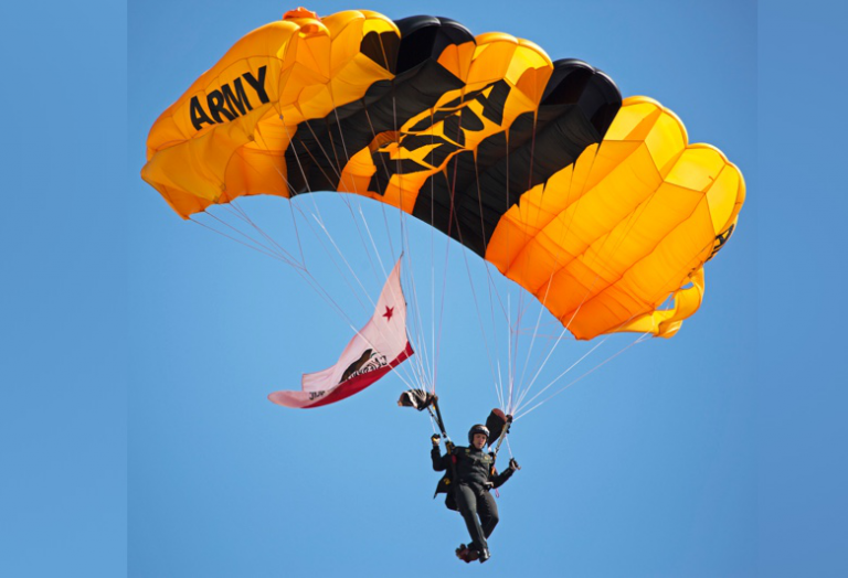 U.S. Army Golden Knights Parachute Jump Team